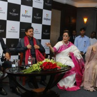 Sonakshi, Poonam and Shatrughan Sinha at Book Launch of 'Anything but Khamosh'