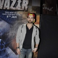 Neil Nitin Mukesh at Special Screening of Wazir
