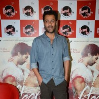 Abhishek Kapoor poses for the media at the Promotions of Fitoor on Fever FM
