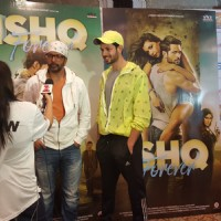 Ishq Forever' Actors Krishna Chaturvedi and Jaaved Jaaferi Felicitate BSE Marathon Winners