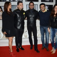 Ronit Roy, Sameer Soni and Neelam Kothari at Dabboo Ratnani's Calendar Launch