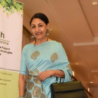 Deepti Naval attends a seminar on The Art of Learning for Sustainable Tomorrow
