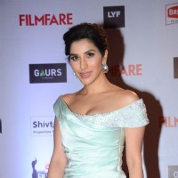 Sophie Choudry's Look at Filmfare  Awards 2016