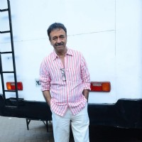 Rajkumar Hirani at Promotions of Saala Khadoos