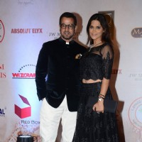 Ronit Roy and Neelam Singh at Vikram Phadnis' 25th Anniversary Celebration