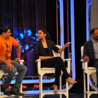 Cyrus Broacha and Parineeti Chopra at NDTV Cleanathon