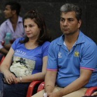 Kunickaa and Varun at BCL Season 2 Practise Session
