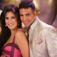 Lovable scene of Akshay and Katrina