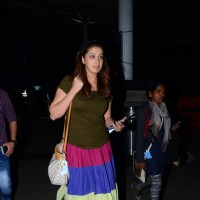Lakshmi Rai Snapped at Airport