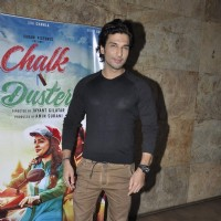 Manish Raisinghan at Screening of 'Chalk N Duster'