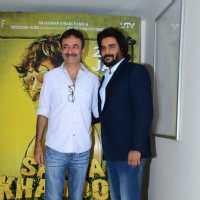 R. Madhavan and Rajkumar Hirani at Special Screening of Saala Khadoos