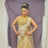 Rakhi Sawant in Rohhit Verma's New Collection