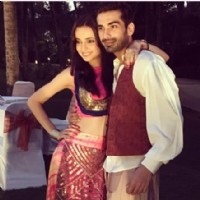 sanaya - mohit sundown party picture