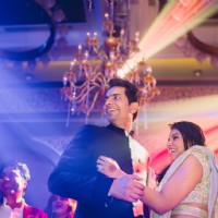 Bollywood Beauty Asin & Micromax Founder Rahul Sharma at Their Wedding Reception