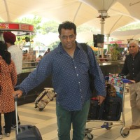 Anurag Basu Snapped at Airport