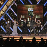 Shiamak Davar, Shriya Saran, Tamannaah and Allu Arjun Performs at IIFA Utsavam Day 2