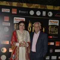 Ramesh Sippy and Kiran Juneja at IIFA Utsavam Day 2