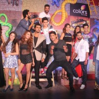 Host Arjun Kapoor and All the Contestants of Khatron Ke Khiladi 7 at  Press Meet