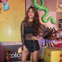 Sana Saeed at Press Meet of Khatron Ke Khiladi 7