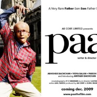 Paa movie poster with Amitabh Bachchan | Paa Posters
