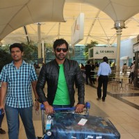 Shabbir Ahluwalia at Snapped at Airport