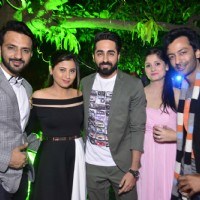 Ayushmann Khurrana at Cocktail Party for Ali Merchant and Anam
