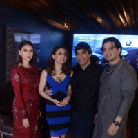 Soha Ali Khan and Aditi Rao Hydari at Delhi Art Fair