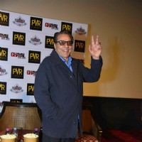 Dharmendra at Promotions of Ghayal Once Again in Delhi