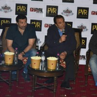Sunny Deol and Dharmendra at Promotions of Ghayal Once Again in Delhi