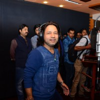 Kailash Kher at Recording Studio