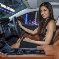 Katrina Kaif at Jaguar's Launch at Auto Expo 2016