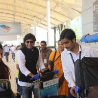 Ashutosh Rana Snapped at Airport