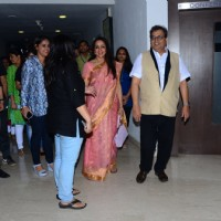 Hema Malini and Subhash Ghai at Whistling Woods