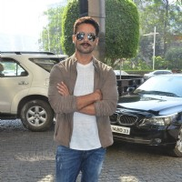 Shahid Kapoor at Press Meet of Zee Cine Awards