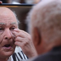 Rishi Kapoor's make up done by Greg Cannom for Kapoor and Sons