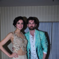 Neil Nitin Mukesh and Divya Khosla Kumar at HTC Fashion Show 2016