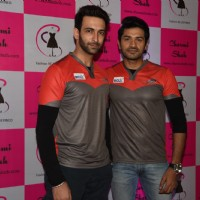Nandish Singh Sandhu and Mrunal Jain at Charmi Shah's Fashion Show