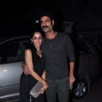 Newly Engaged Sikander and Priya Singh at Anil Kapoor's Bash for 24 Season 2