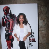 Sonakshi Sinha at Special Screening of 'Deadpool'
