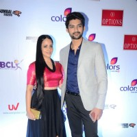 Natasha Redij and Aditya Redij at Launch of Anthem for BCL Team 'Mumbai Tigers'