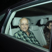 Mukesh Bhatt at Special Screening of Fitoor
