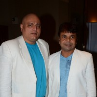 Manoj Joshi and Rajpal Yadav at Lithuania Meet
