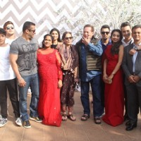 Salman Khan's whole Family at Arpita Khan's Baby Shower