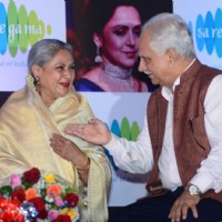 Ramesh Sippy and  Jaya Bachchan at Babul Supriyo's Album Launch