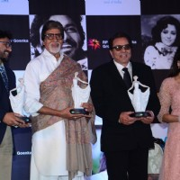Amitabh Bachchan, Dharmendra and Hema Malini at Babul Supriyo's 'Dream Girl' Album Launch