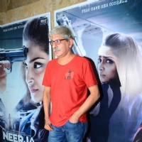 Sriram Raghavan at Special Screening of 'Neerja'