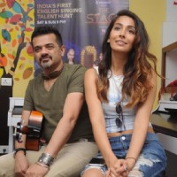 Ehsaan Noorani and Monica Dogra at Colors Infinity's 'The Stage' and Furtado Music School Event
