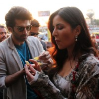 Aditya Roy Kapur and Katrina Kaif Bond over Jalebi in Janpath Market, Delhi