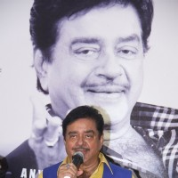 Shatrughan Sinha interacting with the audience at his Book Launch
