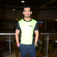 Arjun Bijlani at the Promotions of Team Mumbai Tigers at Edward Maya Concert